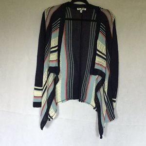 SAY WHAT OPEN CARDIGAN SIZE SMALL